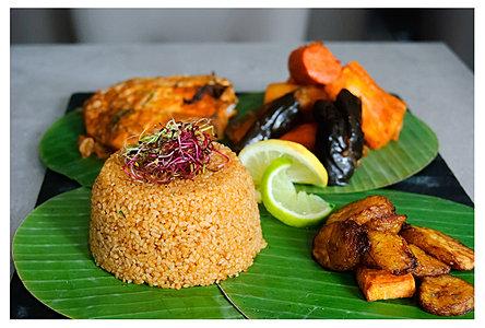 La carte restaurant la braise dor e 75018 paris - Specialite africaine cuisine ...