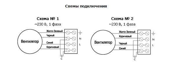 Вентилятор модель вэ-6р схема
