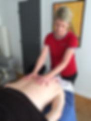 Massage ved Mette Thiilborg