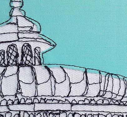 dessin textile, Gillian Bates