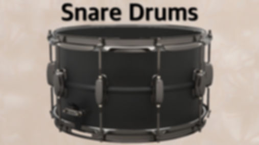 MUSICIANS 1ST CHOICE SNARE DRUMS