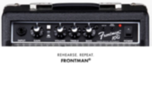 musicians 1st choice fender frontman amplifers