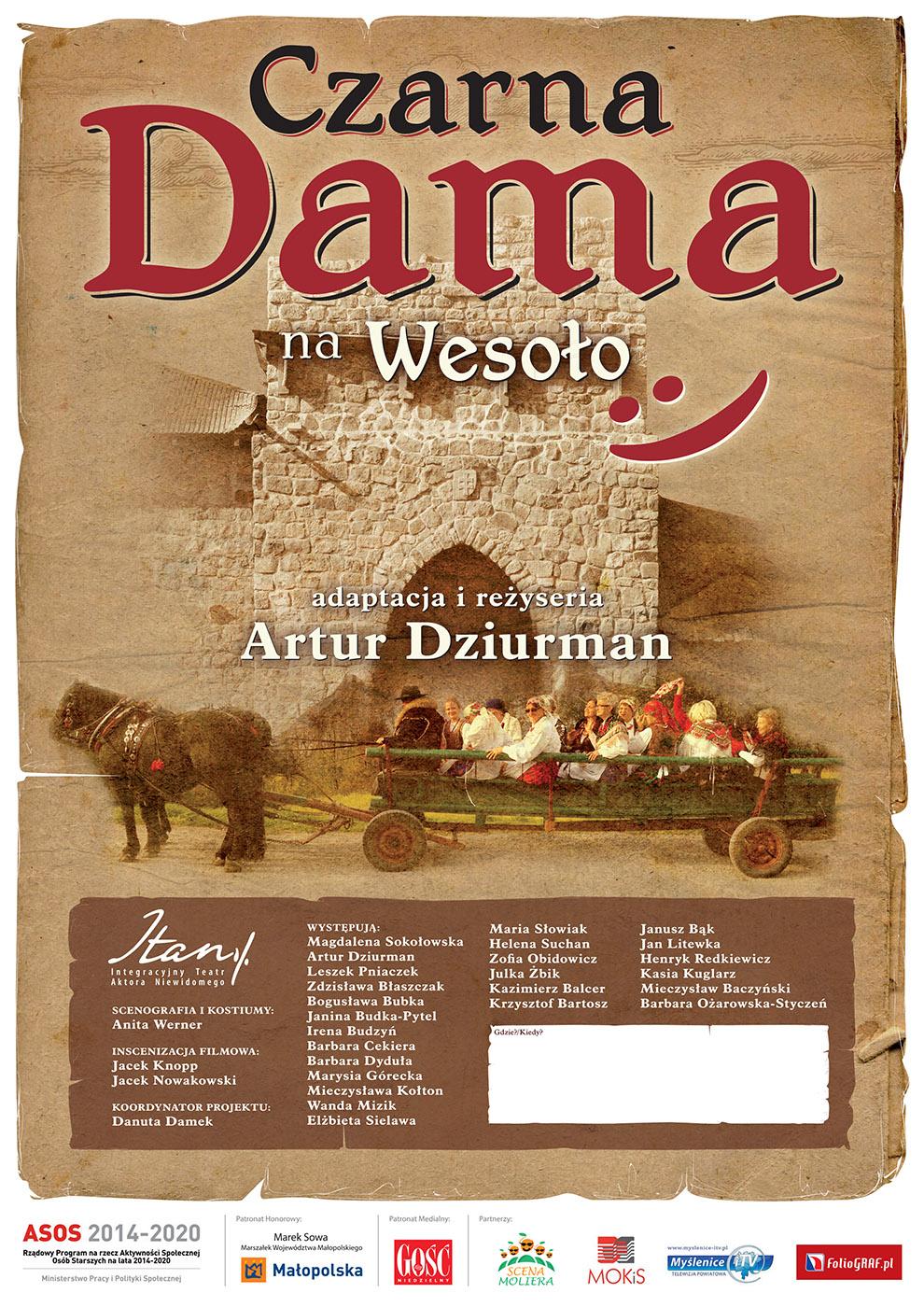 Plakaty Dla Realizacji Artura Dziurmana