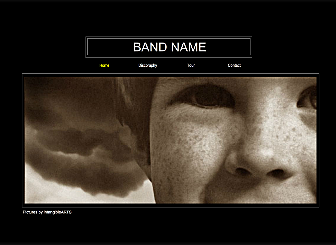 World Wide Band Template - This Modern looking Website is fully customizable and lets you showcase your Photography offerings to your customers with ease. Make it your own right now.