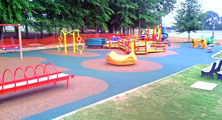Rubber surfacing florida rubber surfacing home - Playground surfaces for home ...