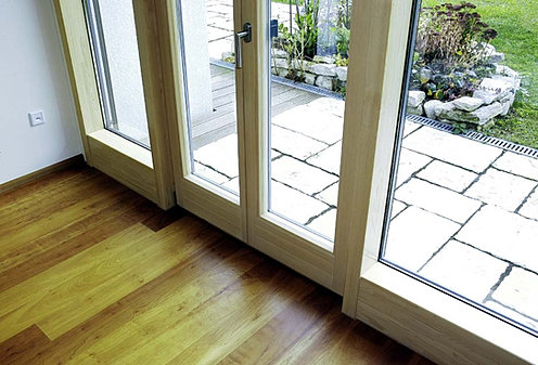 Double glazed timber french doors i thermadura for Inward opening french doors