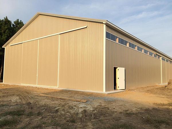 New Indoor Storage Building