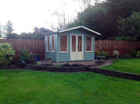 10x8 'Coquet' Apex summerhouse