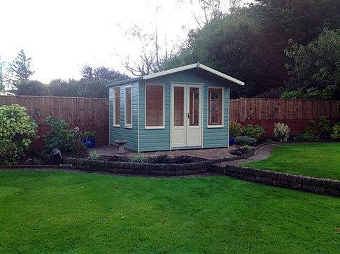 10x8 'Coquet' Apex summerhouse