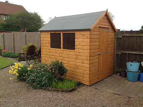 8 x 6 'Acomb' Apex Roof Shed
