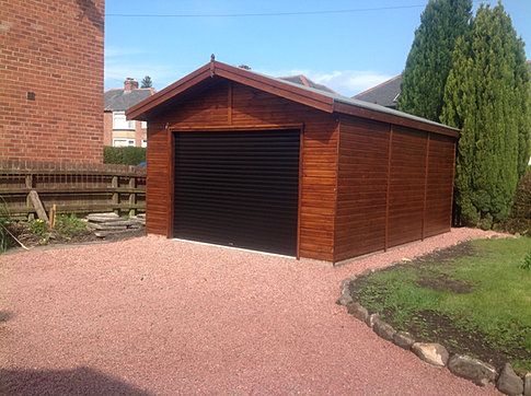 6.0 x 5.5 'Kielder' Garage