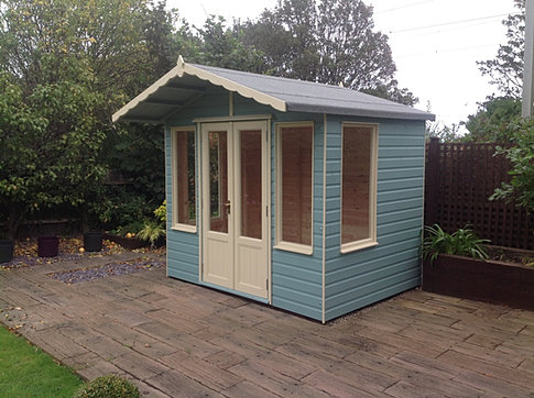 8 x 6 'Coquet' Apex Summerhouse
