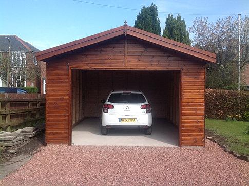 6.0 x 5.5 'Keilder' Garage