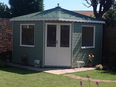 Apex 'Brownsman' Summerhouse