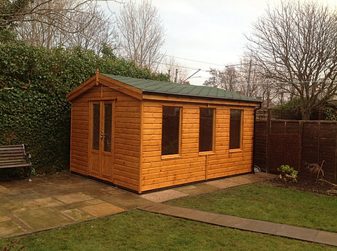 5.0m x 3.0m 'Kielder' Garden Office