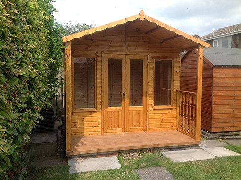 8 x 6 'Coquet' Apex Summerhouse