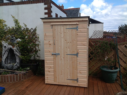 4 x 3 'Plessey' Pent Roof Shed