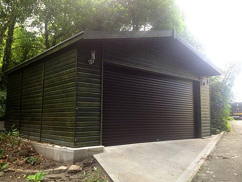 6.0m x 5.5m 'Kielder' Garage