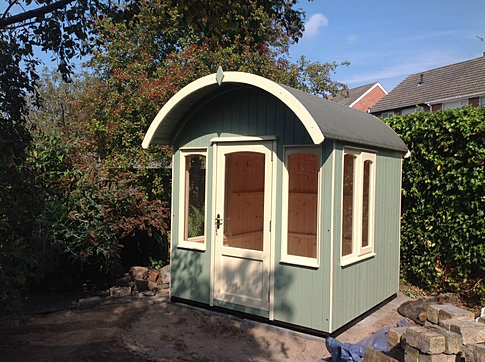 7' x 7' 'Pullman' Curved Roof