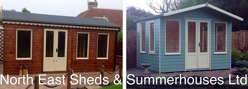 sheds & summerhouses in Newcastle Upon Tyne
