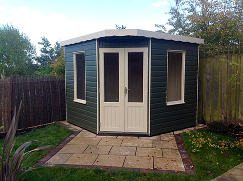 8 x 8 Corner Summerhouse