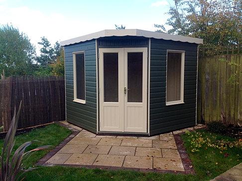 8 x 8 Corner Summerhouse