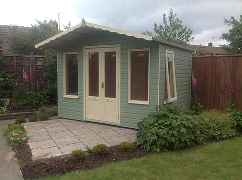 10 x 8 'Coquet' Apex Summerhouse