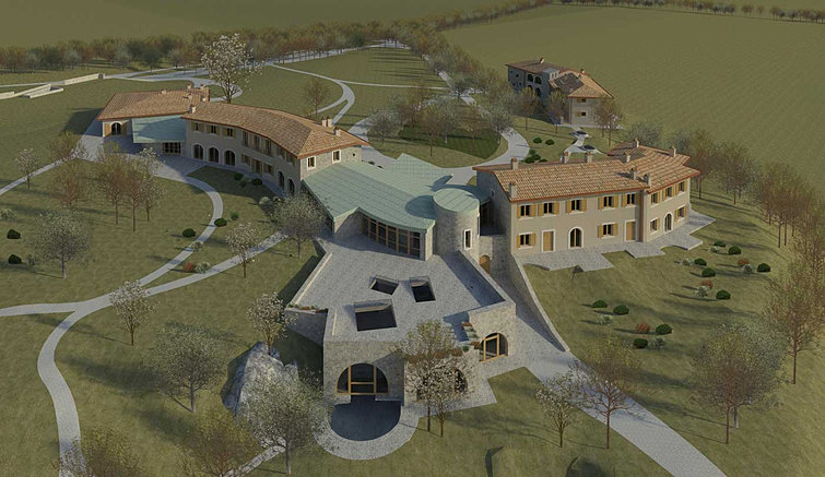 Luca pazzaglia achitecture la chiaracia for Pool designs under 50 000