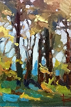 Studio Landscape Painting Workshop at the Waverly Artists Group Studio & Gallery, Cary NC