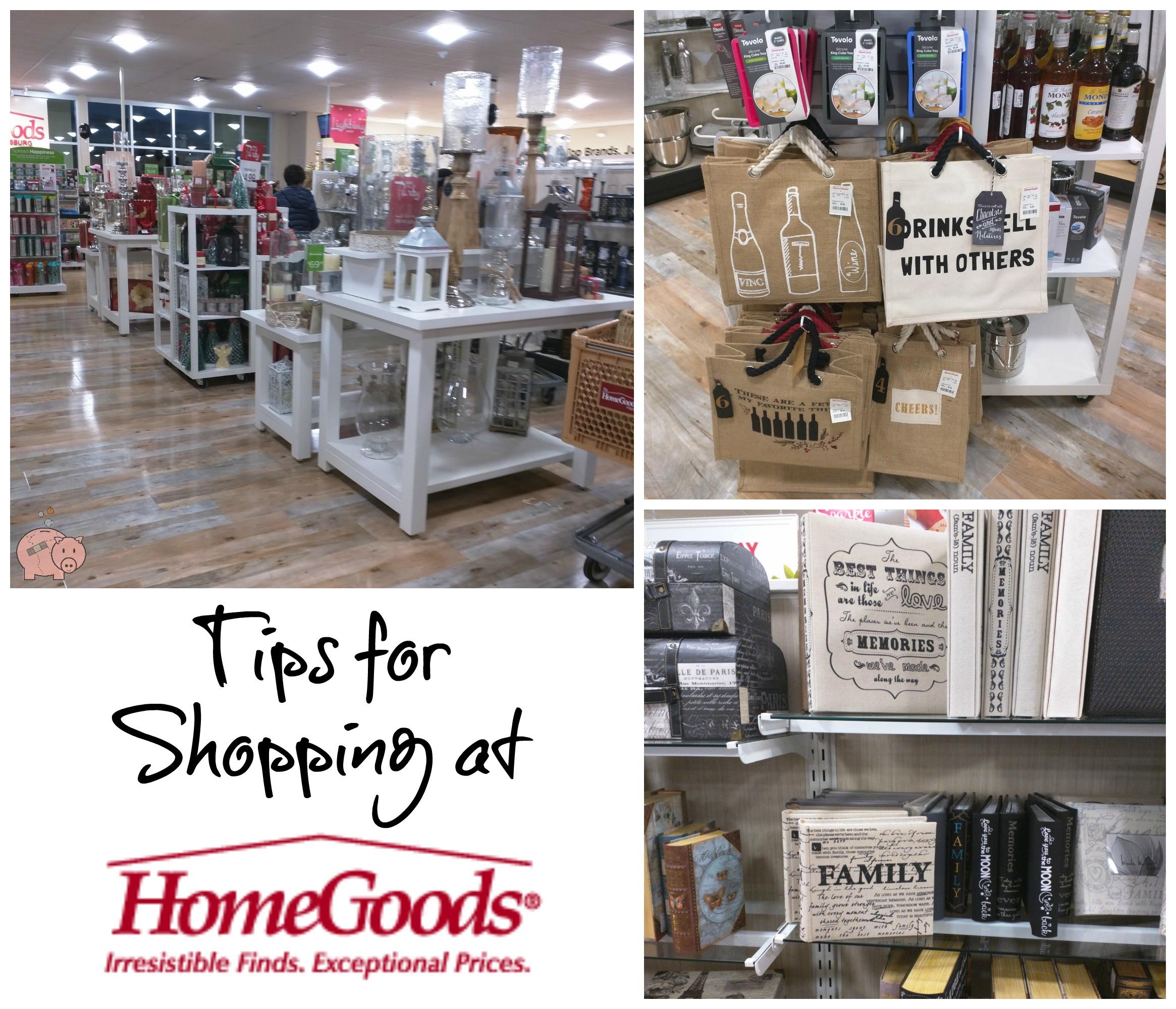 . Tips for Shopping at HomeGoods   Mending the Piggy Bank