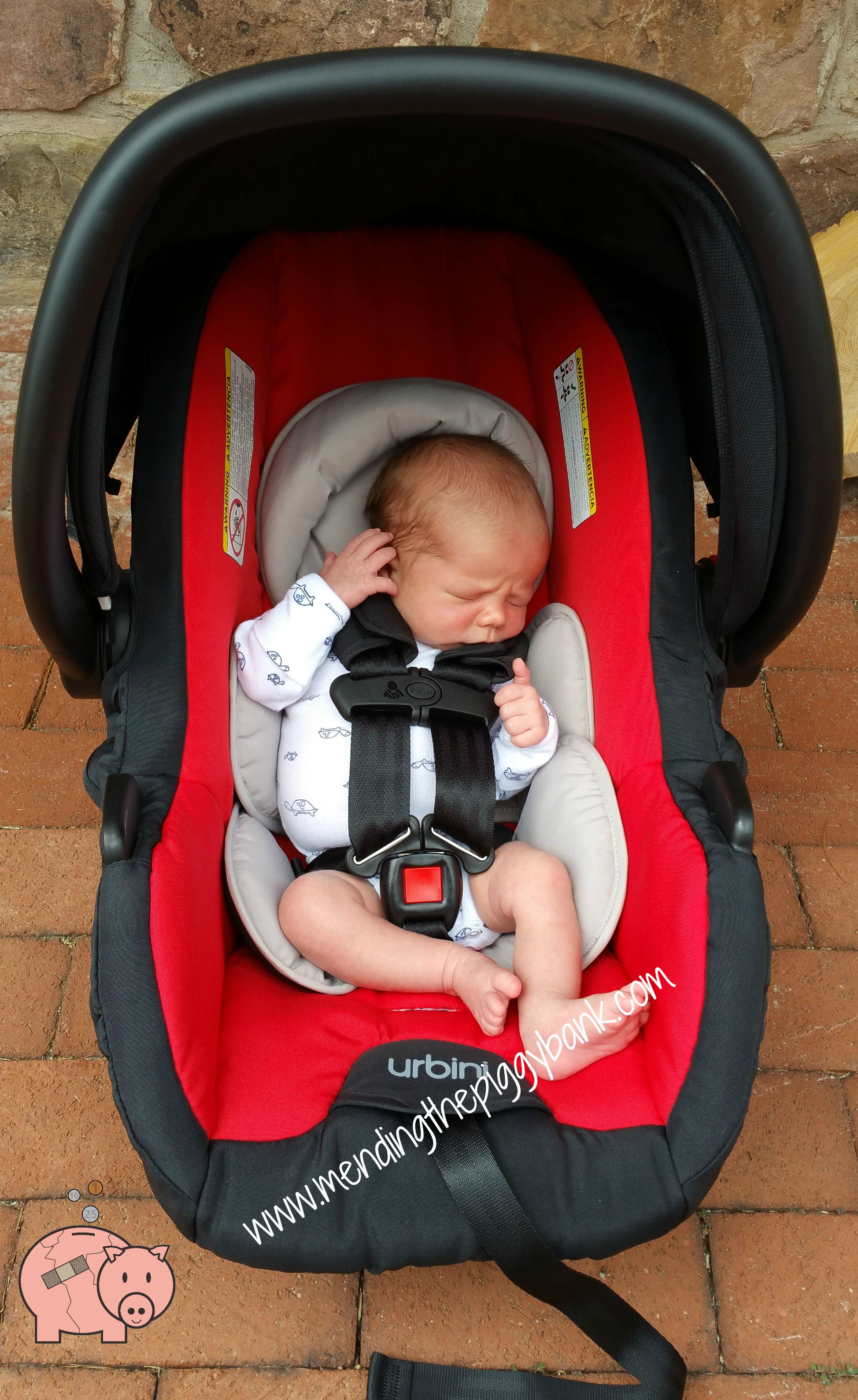Urbini Sonti Infant Car Seat Review Written By Sarah