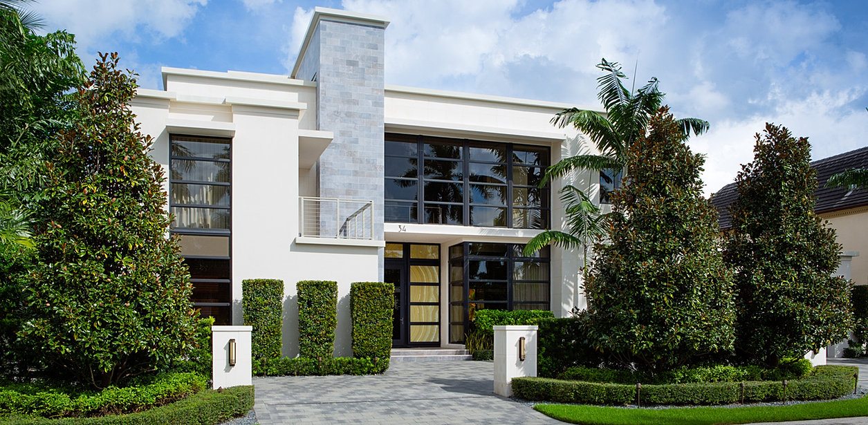 Dex homes modern luxury and sustainable south florida homes for Modern florida homes