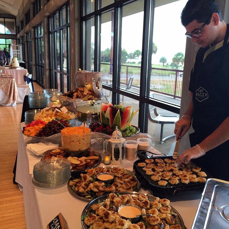 Olive Catering Wedding Packages Sample Menus