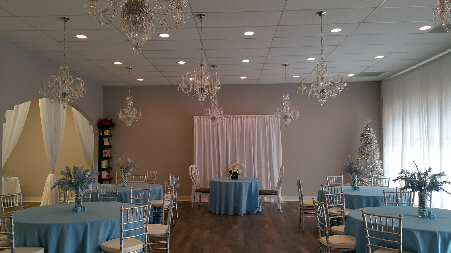 Atlanta Event Venue Winter Theme Baby Shower