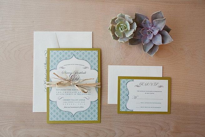 Jen simpson design portfolio country chic invite for Rustic wedding invitations david s bridal