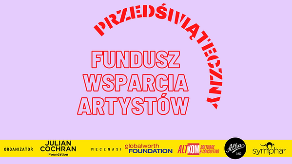 artists fund poster