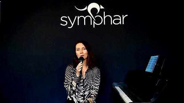 host of the concert speaking
