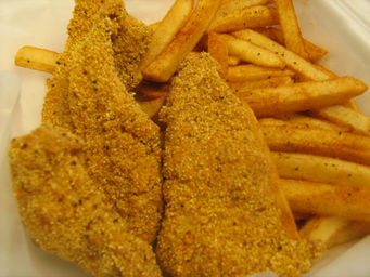 fat tuesday catfish & cajun fries