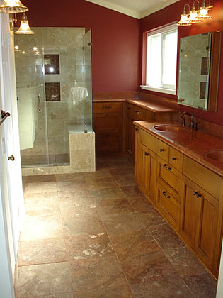 simi valley bathroom remodel before and after images