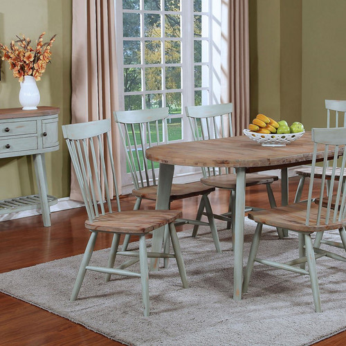 Lake View Oval Oak Dining Table