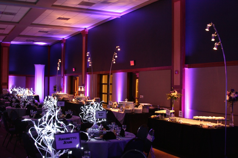 Designs at innovative lighting and design kansas city event lighting