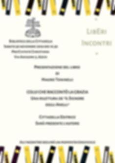 """Presentazione """"Colui che raccontò la grazia"""" - Biblioteca della Cittadella. Assisi"""