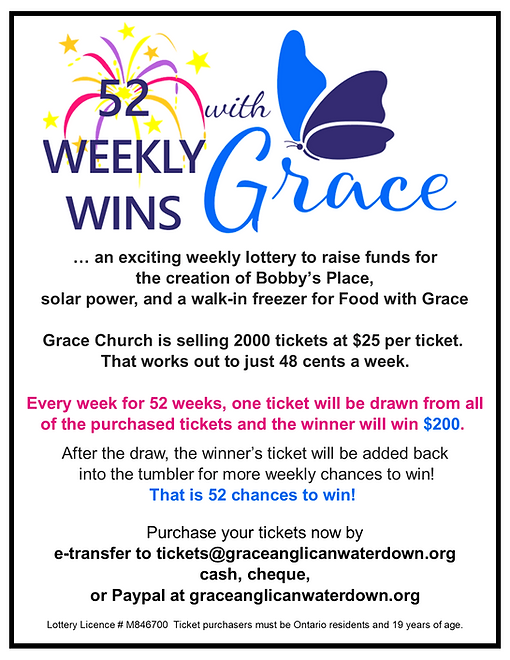 52 Weekly Wins with Grace poster b&w bor