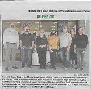 Flamborough Reveiw, M&M donation pic.jpg