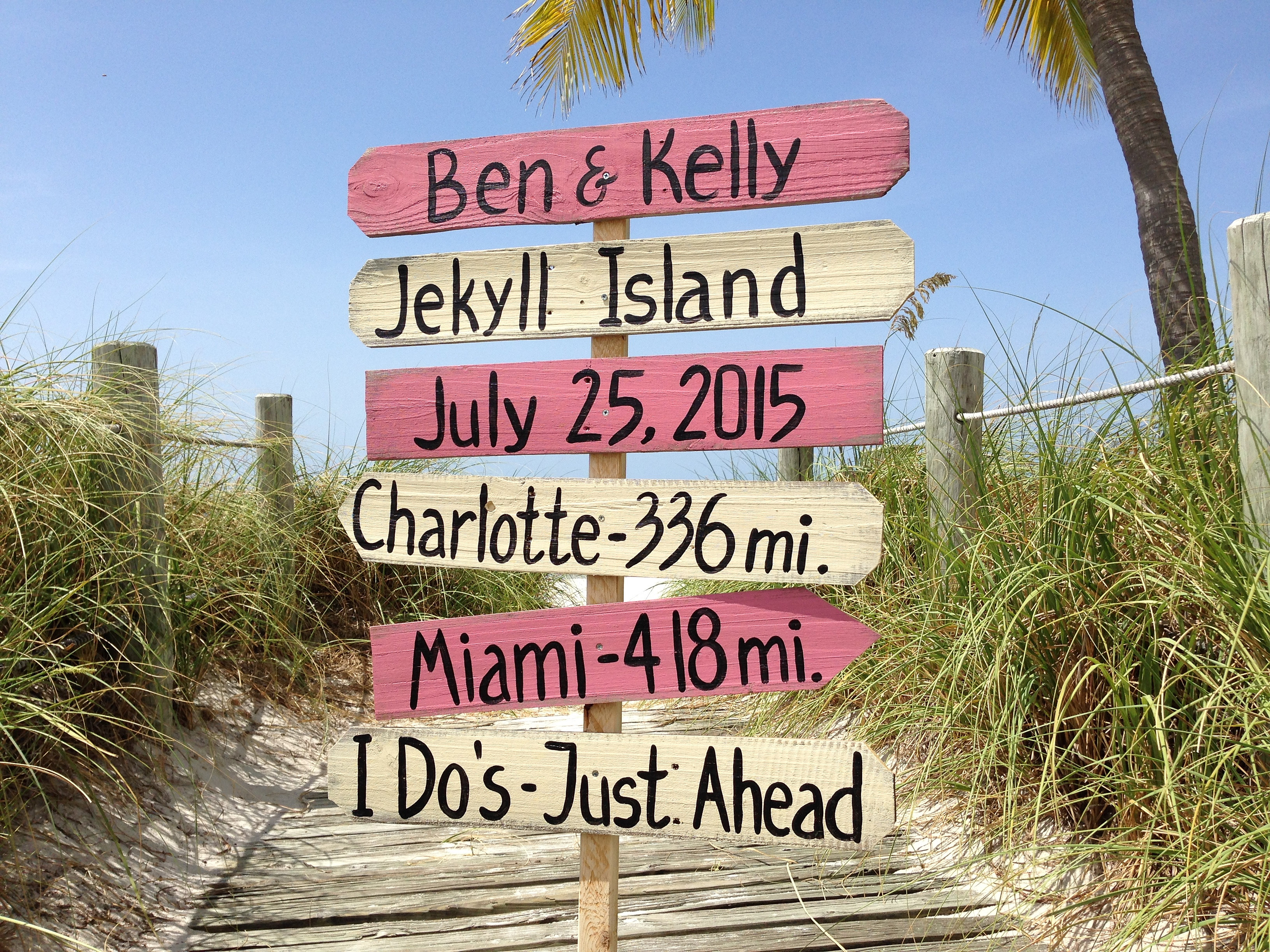 beach wedding sign wedding signs deirectional wedding signs wedding ceremony signs key