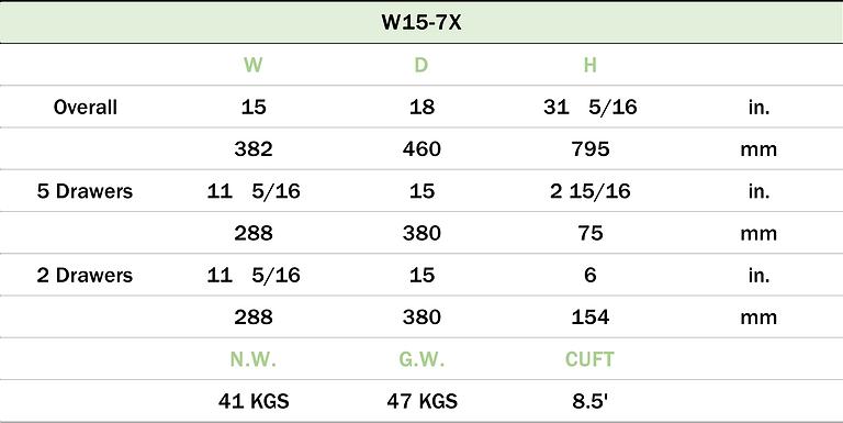 W15-7X