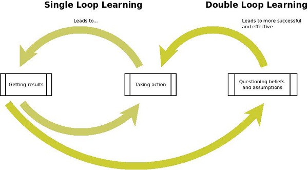 Do you engage in single loop or double loop learning? | Navigate the Chaos  by Michael Edmondson, Ph.D.