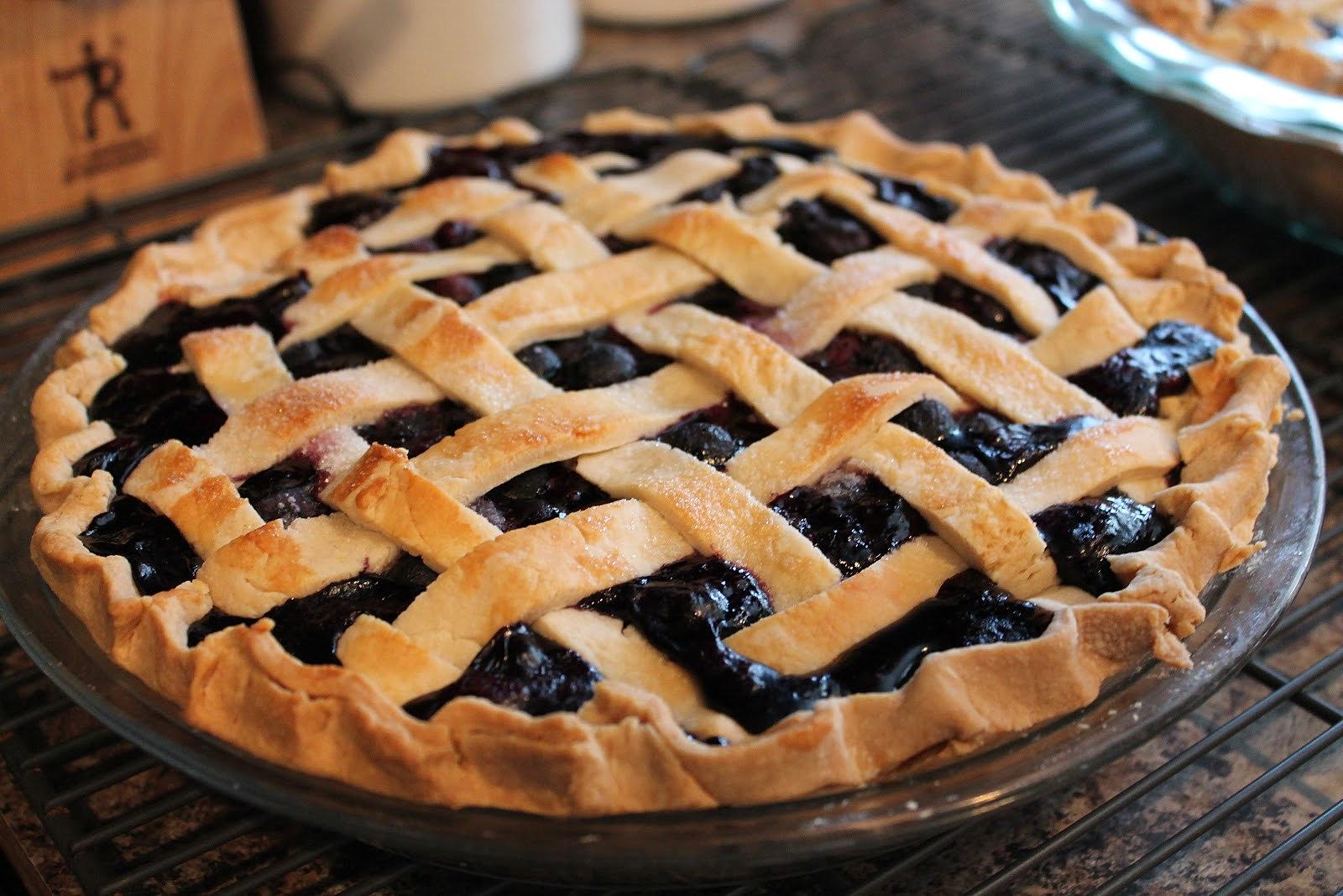 Рецепт начинки черники пирога