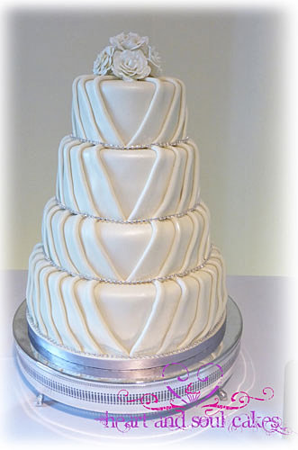 Heart And Soul Cakes Wedding Cakes Cake Makers