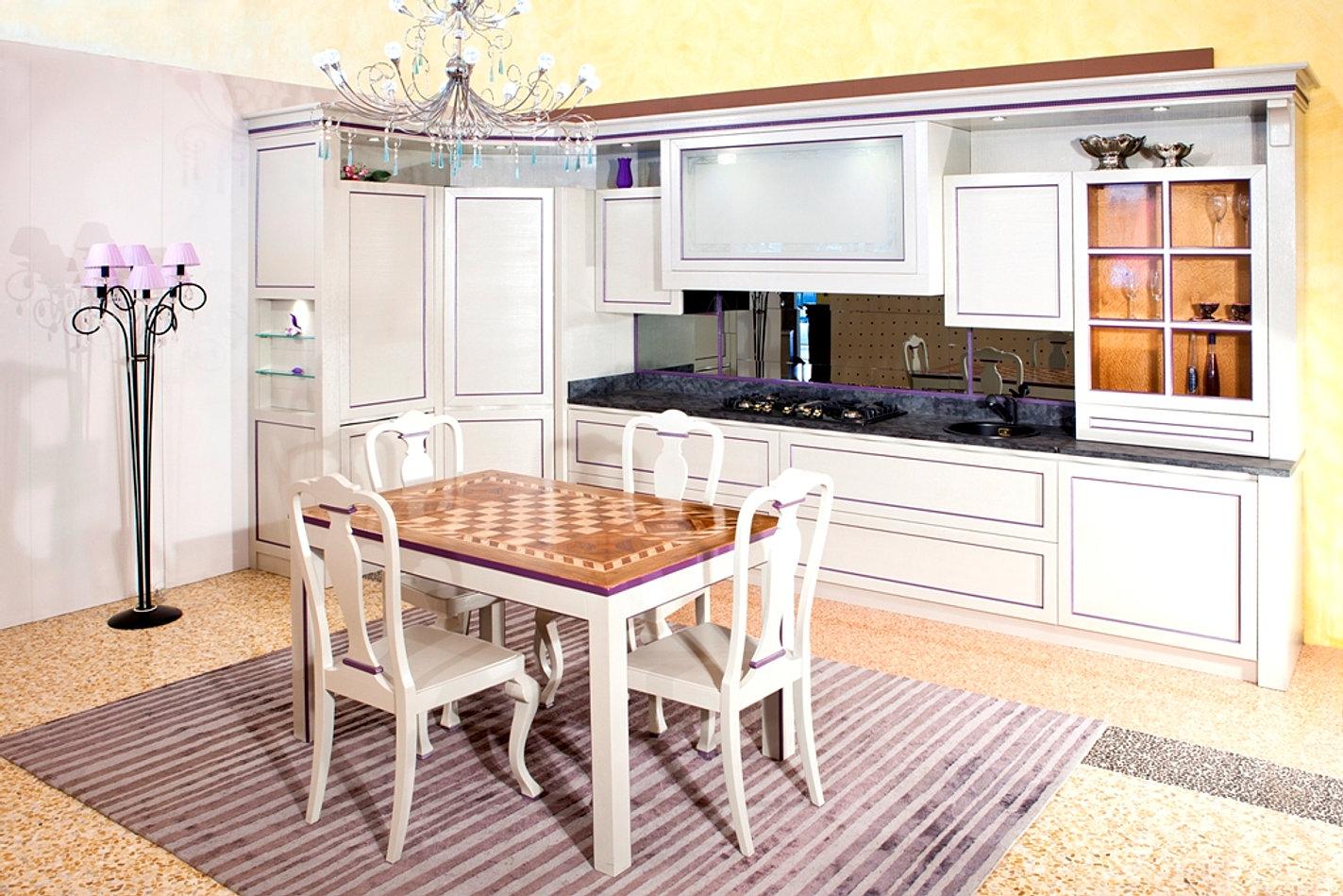 cucina in legno eva, Disegni interni